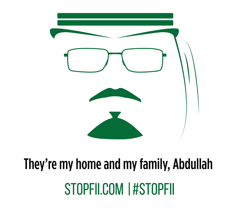 They're my home and my family, Abdullah