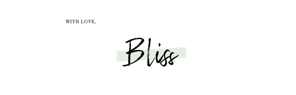 signature BLISS