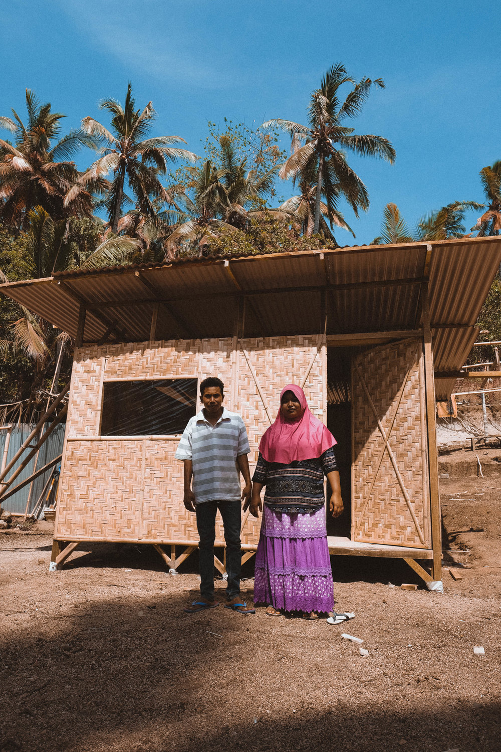 House.03 - Residents: Pak Huldan & familyNumber of residents: 2Location: Tandjung, Lombok