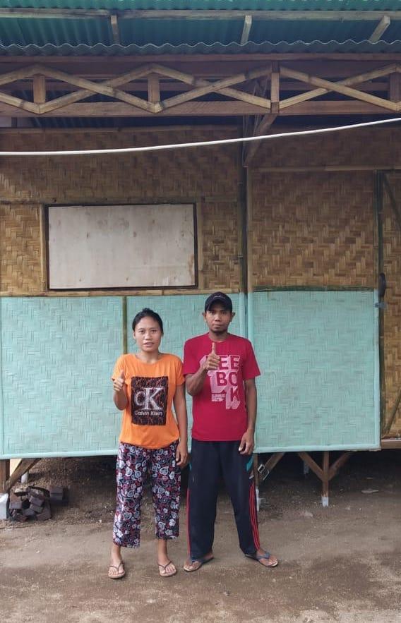 House.10 - Ahmat & familyNumber of residents: 2Location: Tandjung, Lombok