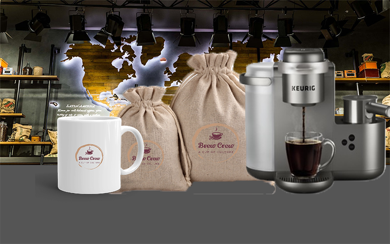 Brew It Beginner $1000   CLICK HERE TO PURCHASE!   Included within the package:  Keurig Coffee Machine  24 K-Cups  1 Coffee Mug