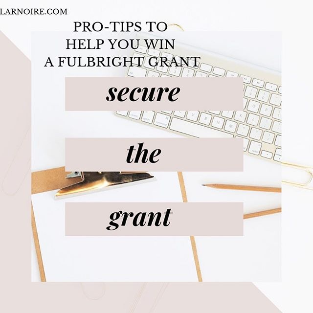 "The sun is out & the ides of March are over. That means my DM's are filling up with requests & questions about fellowships, grad school, Fulbright. 🌟 . I am here to help! I just published section 3 of the secure the grant guide of my website, ""how to write the personal statement."" 🌟 . There's also worksheets and personalized sessions where you can work with me one-on-one to perfect your application 🌟 . I say this humbly— a second client this year has just secured a fellowship. That is an amazing feeling! 🌟 . Go over to scholarnoire.com and visit my resources section. There just may be something there for you!  And tell your friends 👫 🌟 . 🌟 . 🌟 . #scholarnoire #parisnoire #blackgrad #fulbright #fulbrightnoir #phdlife #fellowships #sociology #blogger #youtube #youtuber #intersectionality #dissertation #academia #blackademics #blackfeminism #sisterphd #blackwomanscholar #paris #phdstudent #blackwomenphd #blackademics #fulbrightgrant"
