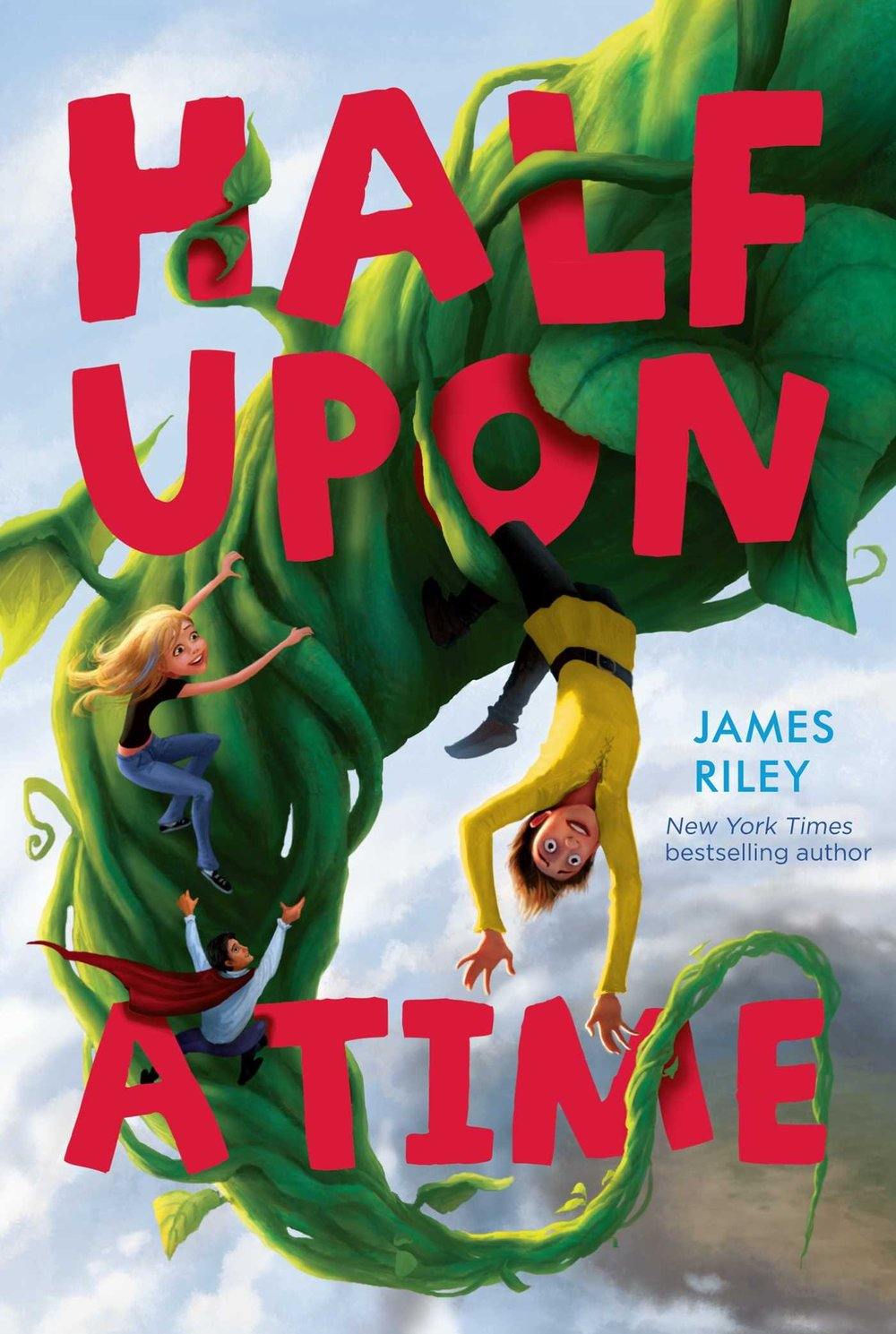 HALF UPON A TIME - Jack comes from a family of adventurers, but he wants nothing to do with stealing from giants or fighting dragons. All he wants is to live a normal, fairy tale life, in a realm where every fairy tale you've ever heard of is true.All of that changes when a girl from the real world falls from the sky right in front of him one day, and reveals that she just escaped a kidnapping by seven dwarfs. Her grandmother, however, isn't so lucky. Jack takes May on an adventure to find her grandmother … and the truth about how to be a fairy tale hero.