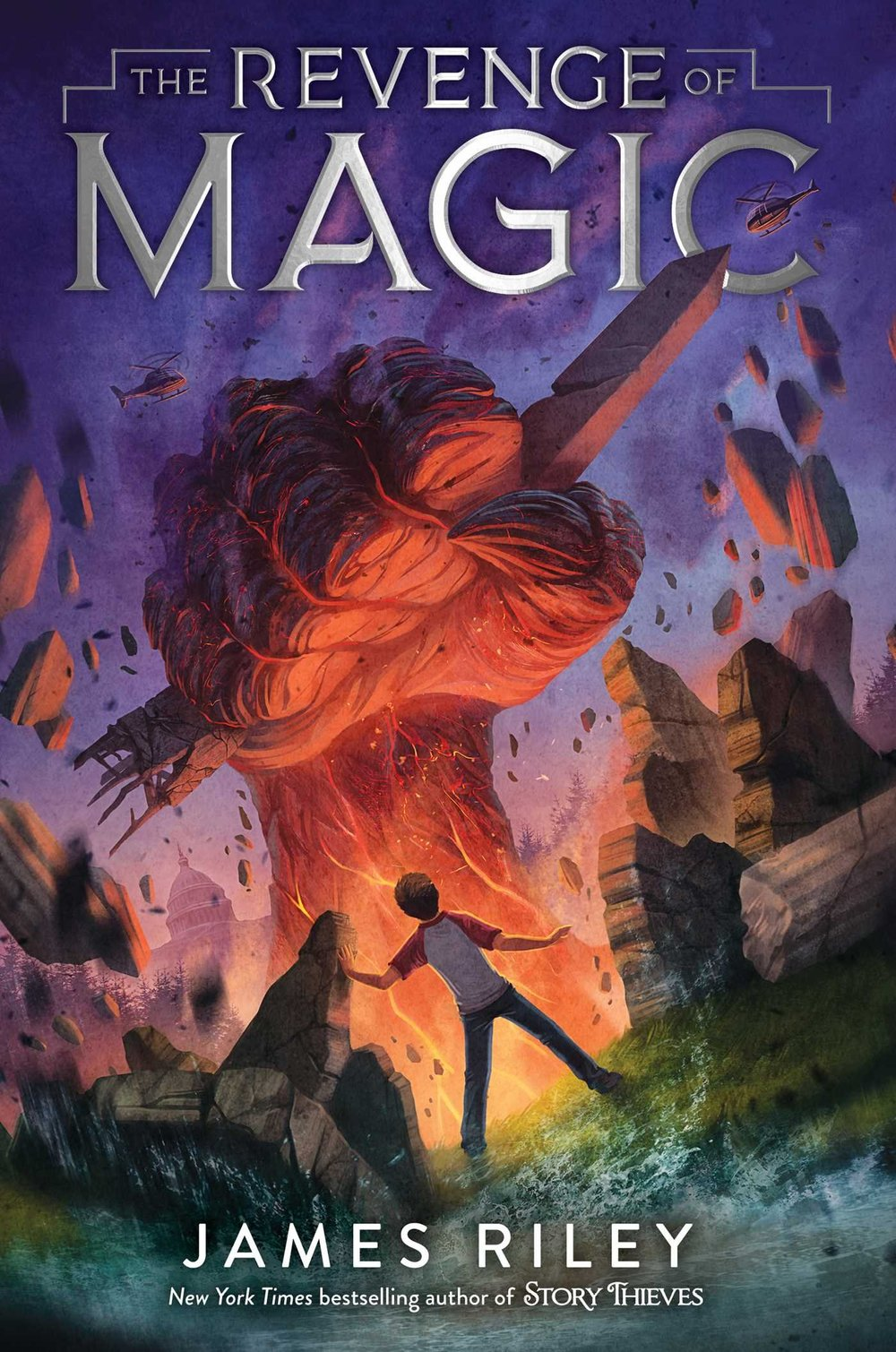 "REVENGE OF MAGIC (BOOK 1) - Thirteen years ago, books of magic were discovered in various sites around the world alongside the bones of dragons. Only those born after ""Discovery Day"" have the power to use the magic.Now, on a vacation to Washington, DC, Fort Fitzgerald's father is lost when a giant creature bursts through the earth, attacking the city. Fort is devastated, until an opportunity for justice arrives six months later, when a man named Dr. Opps invites Fort to a government run school, the Oppenheimer School, to learn magic from those same books.But life's no easier at the school, where secrets abound. What does Jia, Fort's tutor, know about the attacks? Why does Rachel, master of destructive magic, think Fort is out to destroy the school? And why is Fort seeing memories of an expelled girl every time he goes to sleep? If Fort doesn't find out what's hiding within the Oppenheimer School, more attacks will come, and this time, nothing will stop them!BUY: AMAZON 