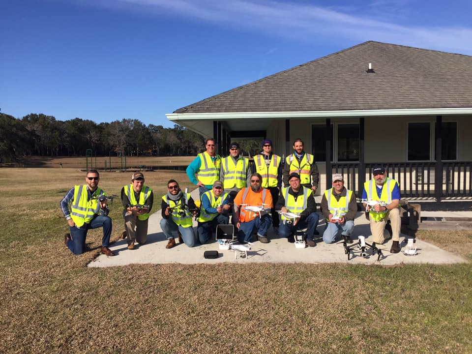 Dewberry Team Hands On Flight Training- Bluffton Training Center, SC