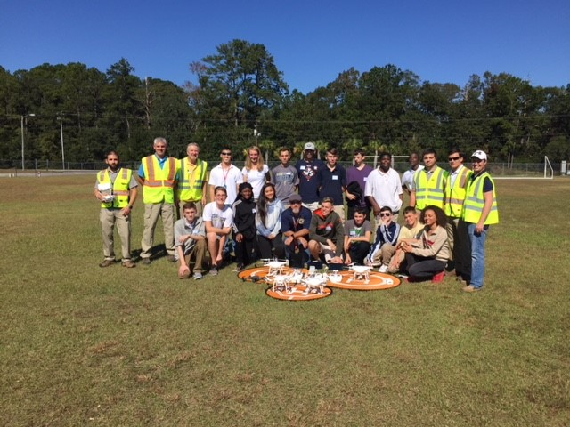 Beaufort Academy, Drone Day Training for Hight School Students, Beaufort SC