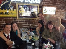favorite picture of Tom, Patty, Andrew, Miki and me - on New Years Day, 2012