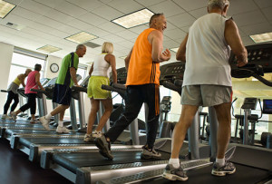 treadmill people