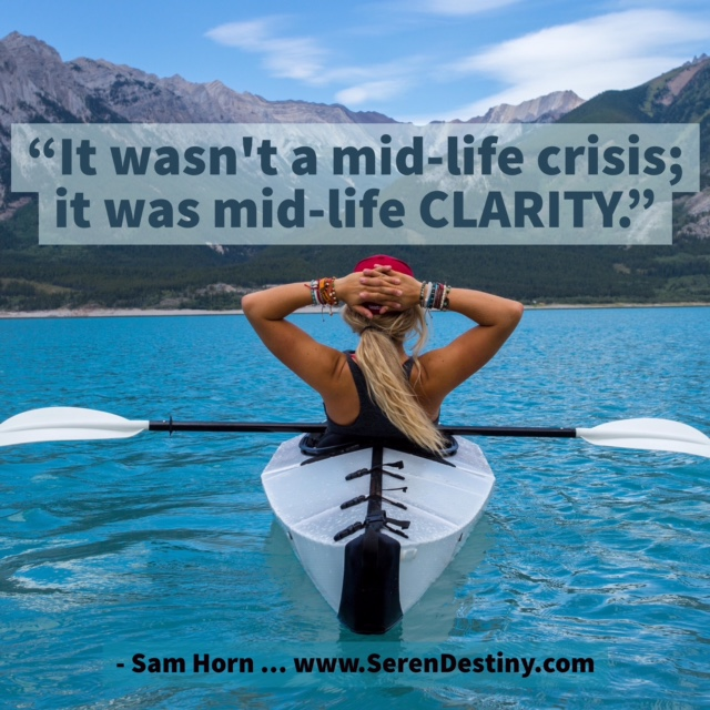 it wasn't mid life crisis - it was midlife clarity image