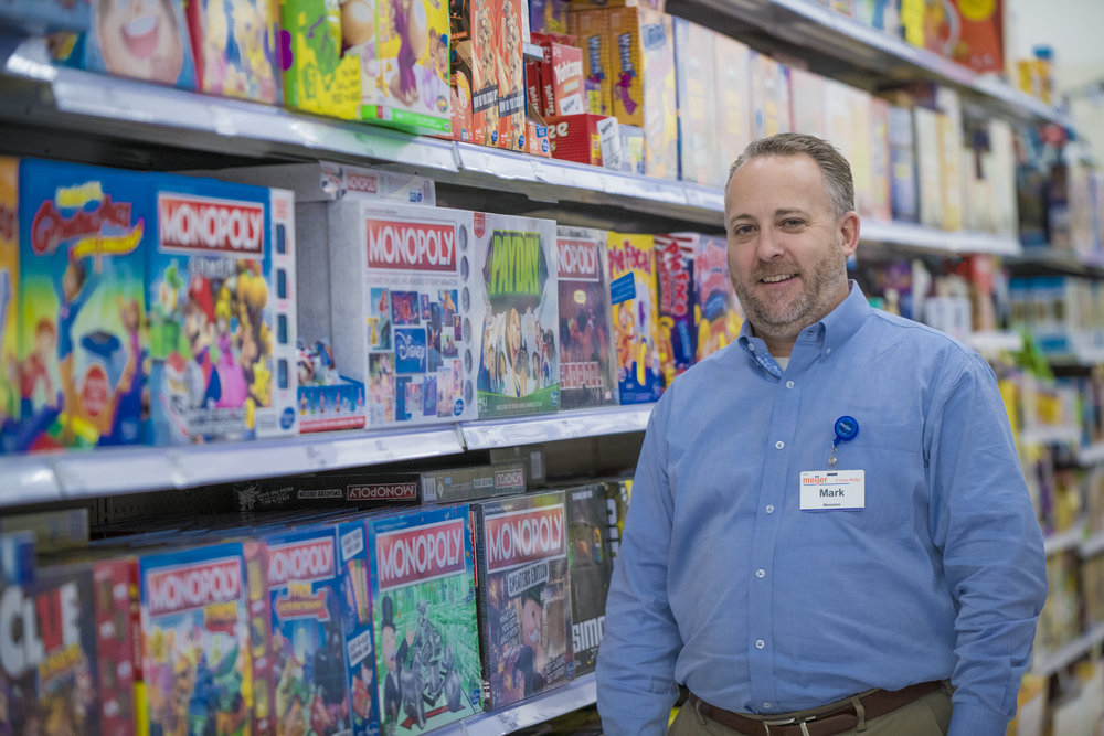 Mark Menichini, Games and Toys buyer for Meijer.