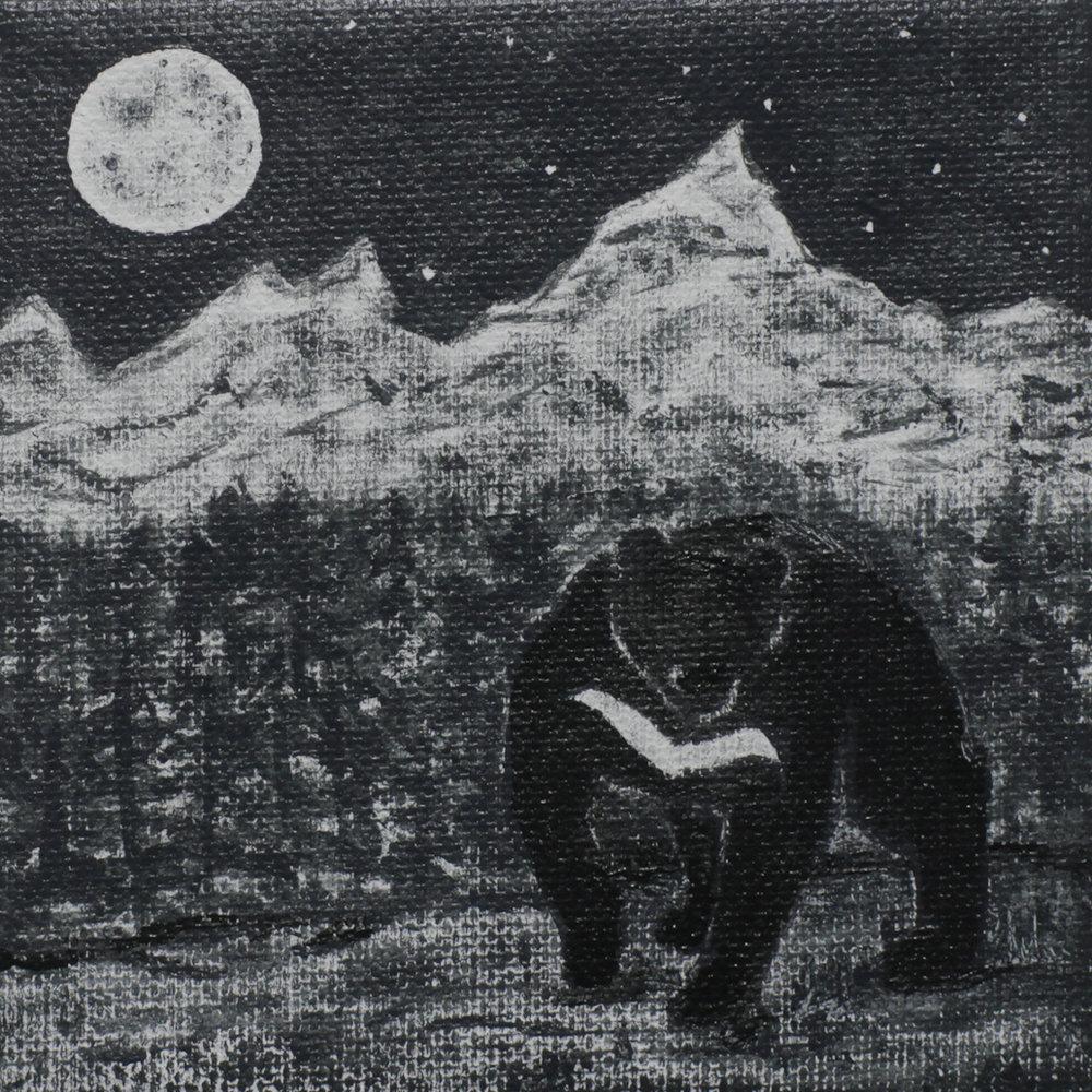 ASIAN BLACK BEAR - Whitney Lockhart