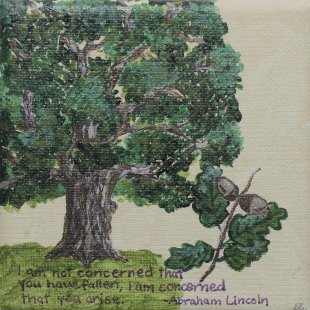 CONCERNED - Leslie Leber