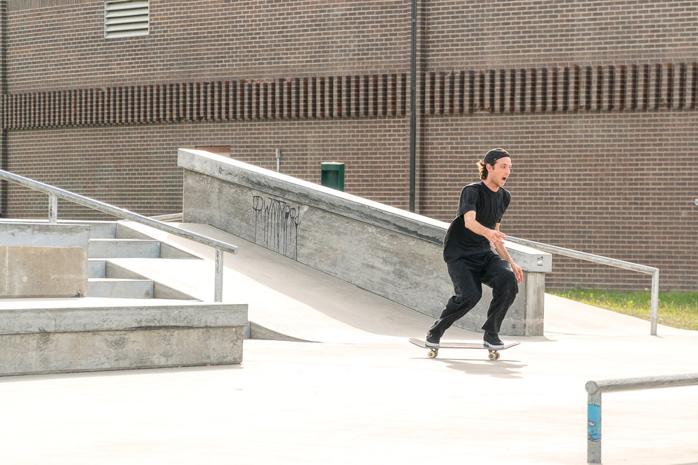 Etnies Chris Joslin Pro Model Wear Test Ryan Lay frontside lipslide