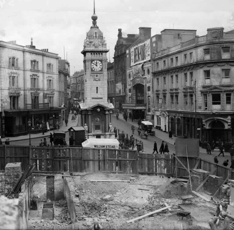 Clock Tower redevelopment in the early 1960s