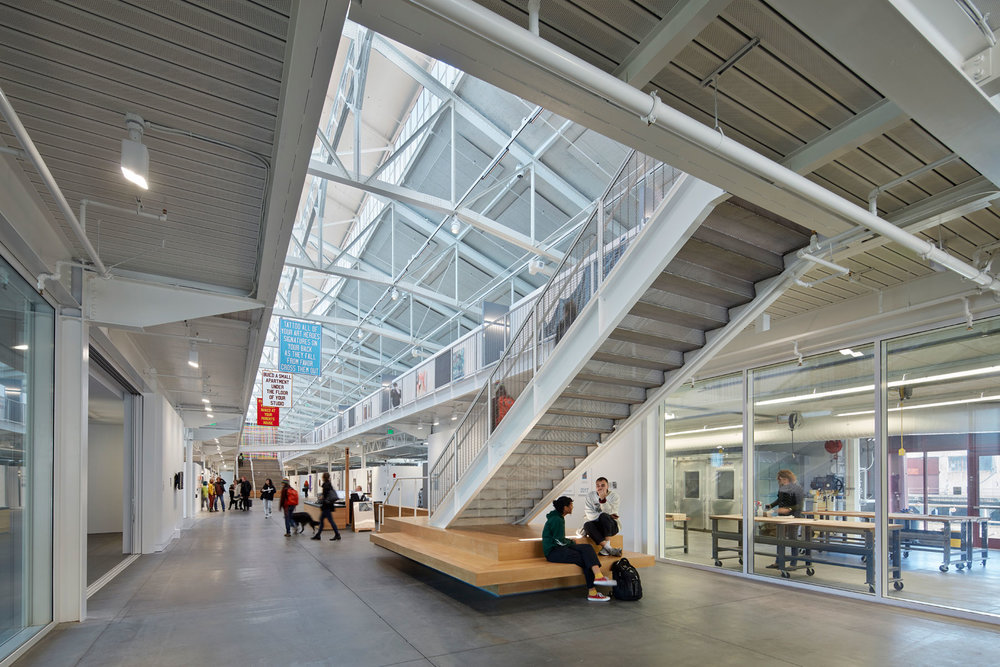 Leddy Maytum Stacy (LMS) Architects   Recipient of the prestigious AIA Architecture Firm Award in 2017 as well as 140 other design awards, LMS Architects has designed many influential, adaptive reuse projects including CCA's San Francisco campus, the San Francisco Art Institute at Fort Mason and Cavallo Point. LMS has also worked with ECB on the Ed Roberts Campus in Berkeley, the Bay School and the recently opened CCA student housing at 75 Arkansas. LMS creates innovative buildings that integrate sustainable design strategies while respecting the character of established neighborhoods.  Website:  http://www.lmsarch.com