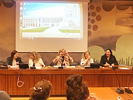 Women and Trade- l-r- Gea Meijers (WIED+), Hulya Kurt (OWIT), Carolyn Handschin (NGOCSW Geneva), Simonetta Arrilli (UNCTAD), Madi Sharma (WESTT).png