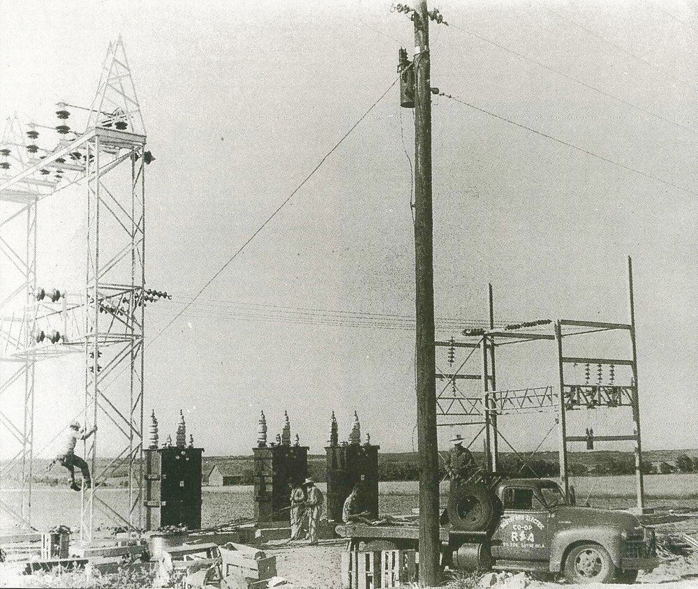 1948 Substation at Reydon