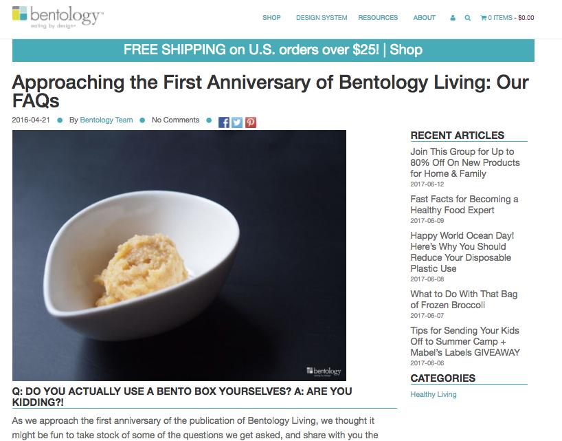 A Milestone for Bentology Living