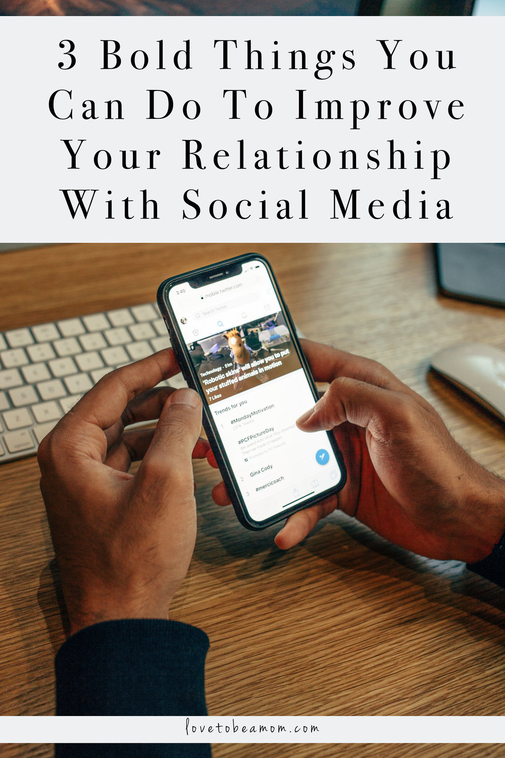 When it comes to social media, most of us have a love/hate relationship. Here are some bold ideas to make you love social media more.