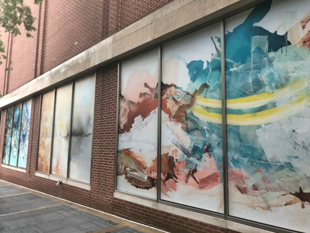 2nd Ave Art Mural in Downtown Nashville - July 2018