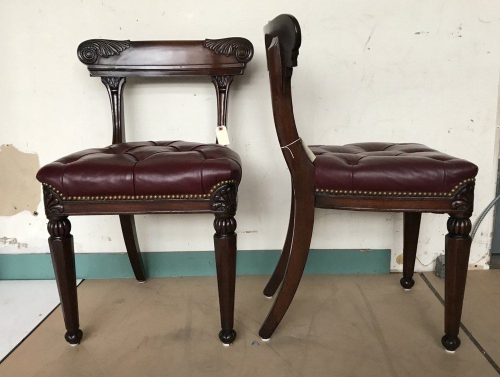SET OF THREE SIDE CHAIRS