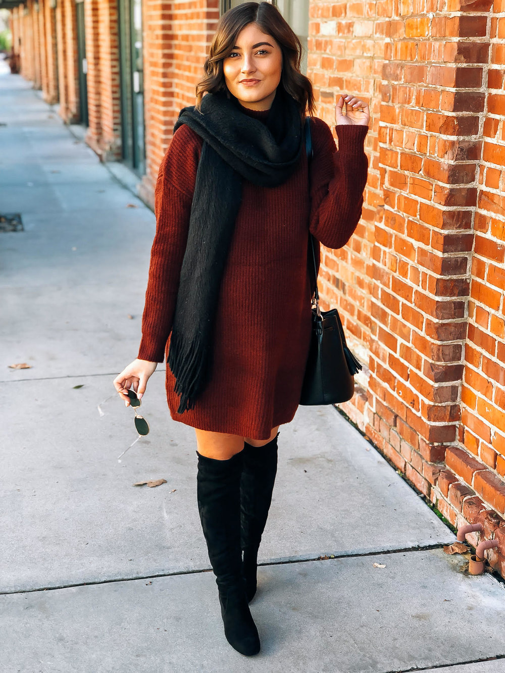 Hi, I'm Sydney! - I am a 26 year old SoCal native, currently living in the San Francisco Bay Area. I have a full time office job working in HR for a large tech company, but started my blog, bitesiphairflip.com, as a creative outlet and a way to apply my love for fashion + food to something constructive and fun. I'm married to a wonderful man and we're expecting our first child in February--Hello mommy blogger life! (@sydney_burden)