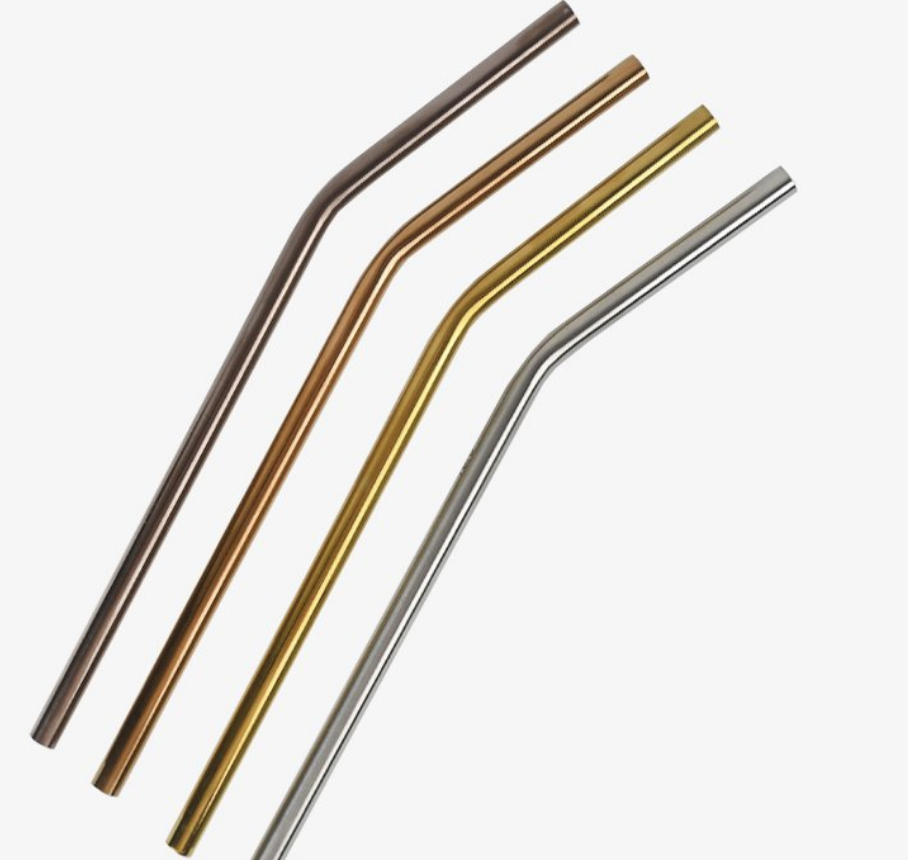 Stainless Steel Straw, $4.50