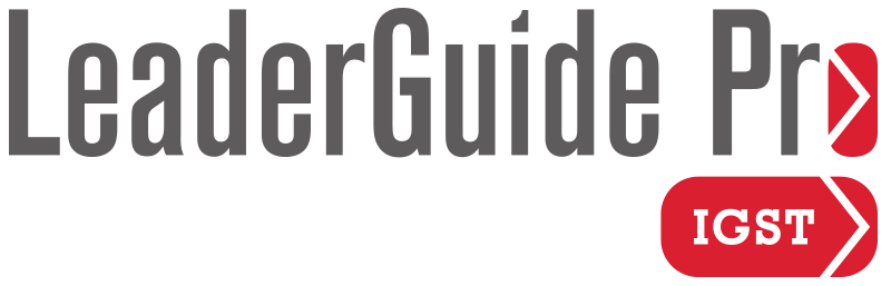The LeaderGuide Pro IGST logo