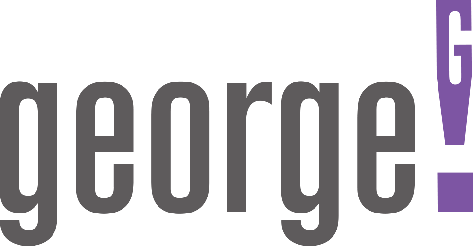 the george! logo