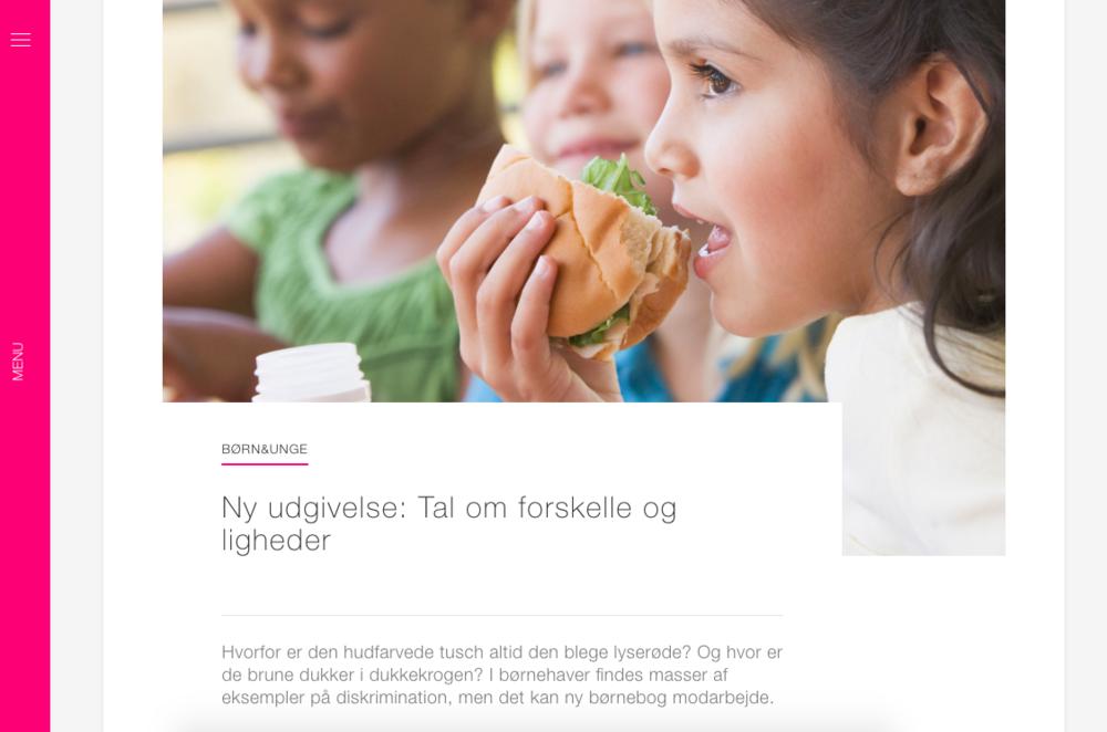 """""""Ny udgivelse: Tal om forskellighed"""" - BUPL's fagblad: Børn og Unge"""