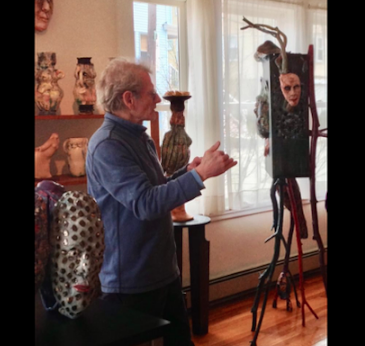Past: Boston ArtWeek, Sculpture Dialogue A presentation by Gregory Steinsieck of select pieces. May 5-6, 2018