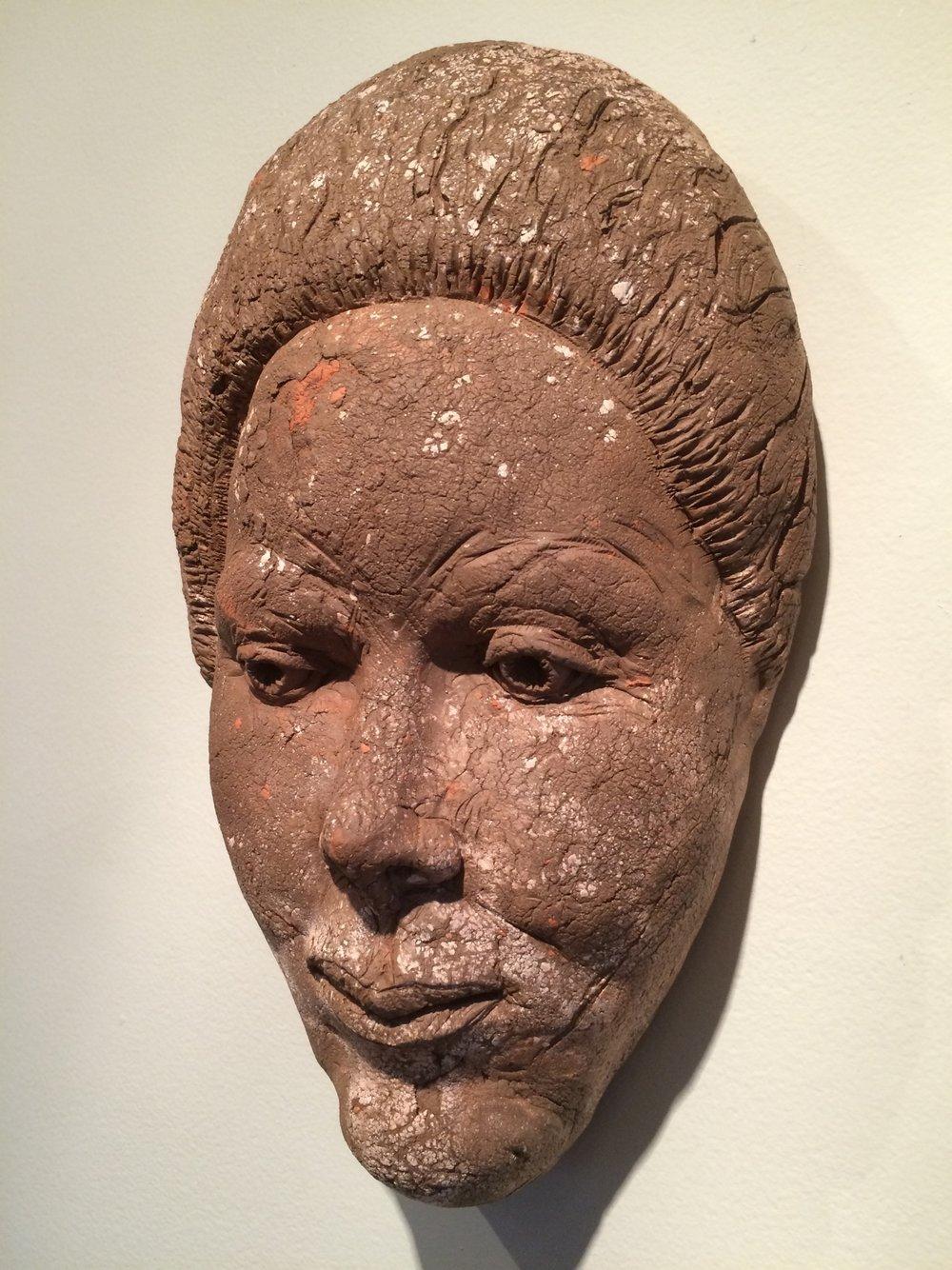 """Abuela  2015, ceramic, 14x8x5"""""""