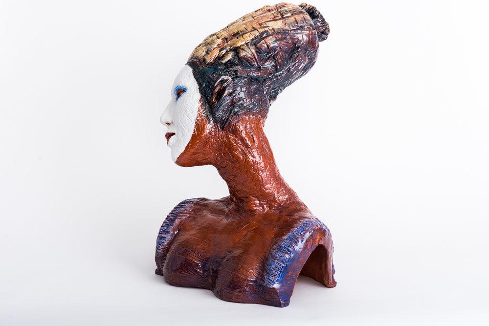 """Aspara II   2015, ceramic, 20x15x15"""""""