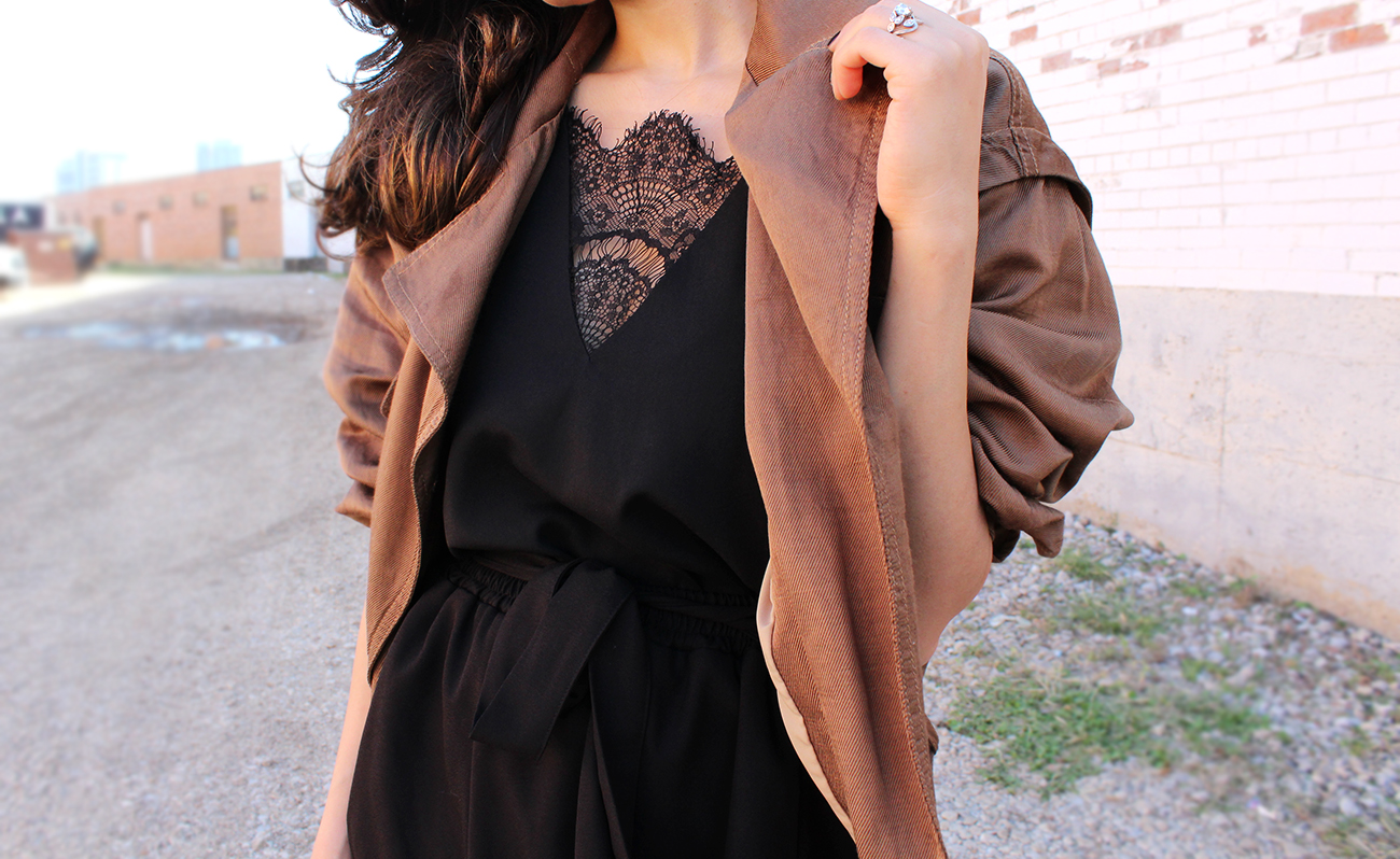 Big Sleeves and Black Lace | DesignerLipService.com - Shirin Askari
