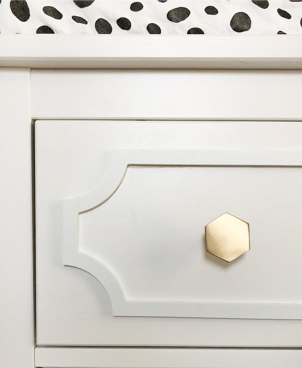 Dressed up Dresser | Ikea Hack - DesignerLipService.com