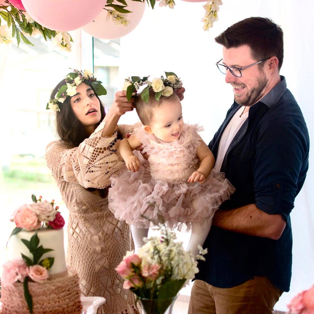 First Birthday | Flower Child - Designer Lip Service