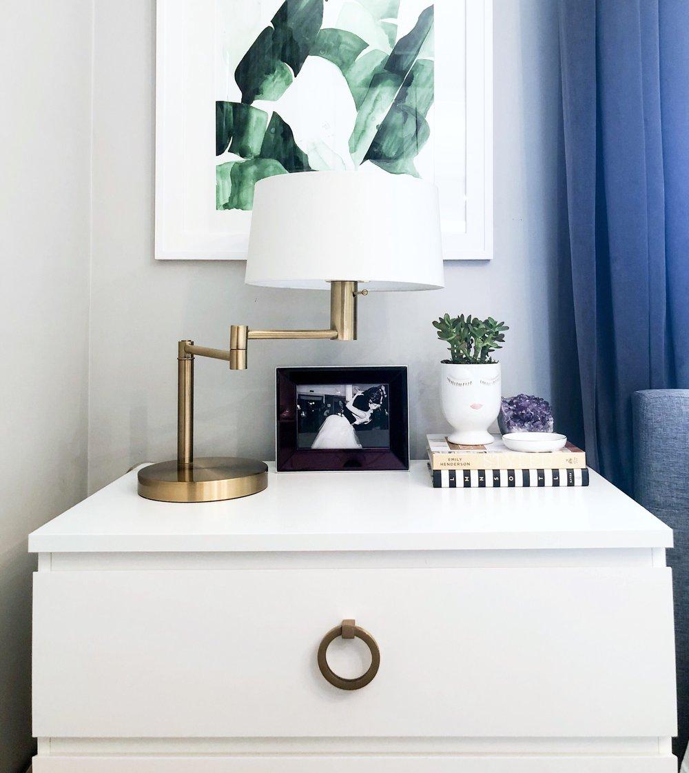 Brass Details | Ikea hack