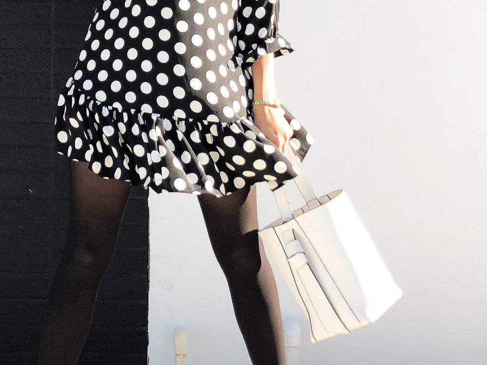 Polka Dot Dress | Shirin Askari - DesignerLipService.com.com