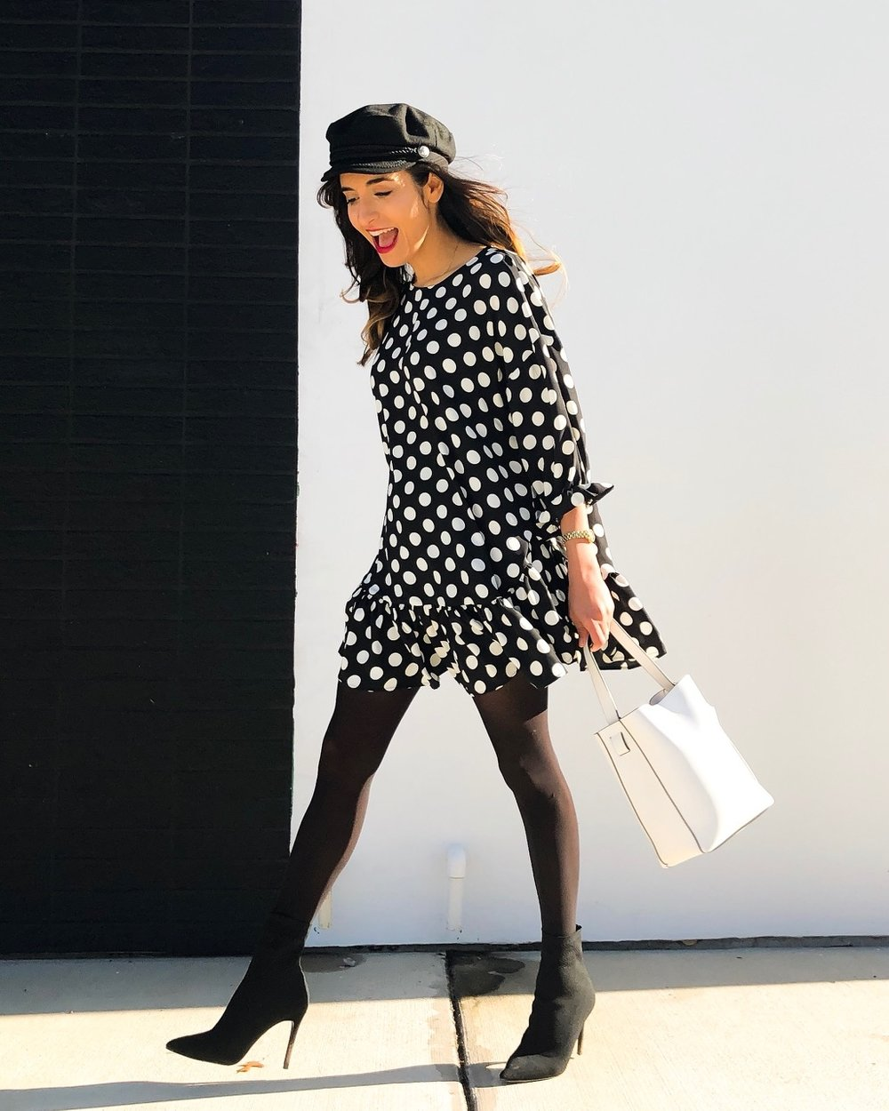 Polka Dot Dress | Shirin Askari - DesignerLipService.com.jpg