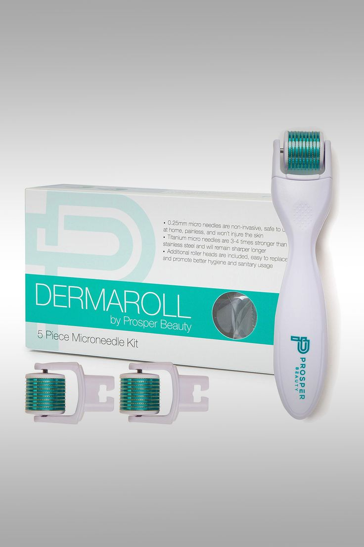 Dermaroll 5 Piece Microneedle Kit - Image Credit: Prosper Beauty