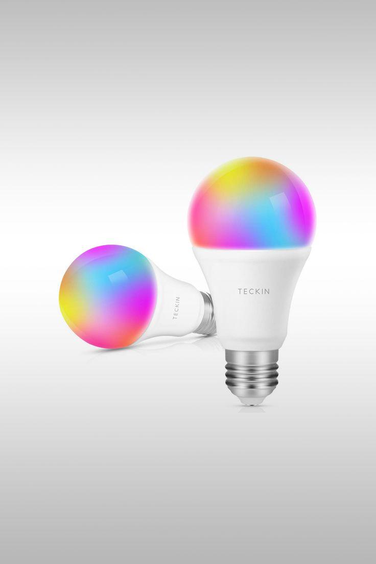 2-Pack of Smart LED WiFi Bulbs - Image Credit: T Teckin