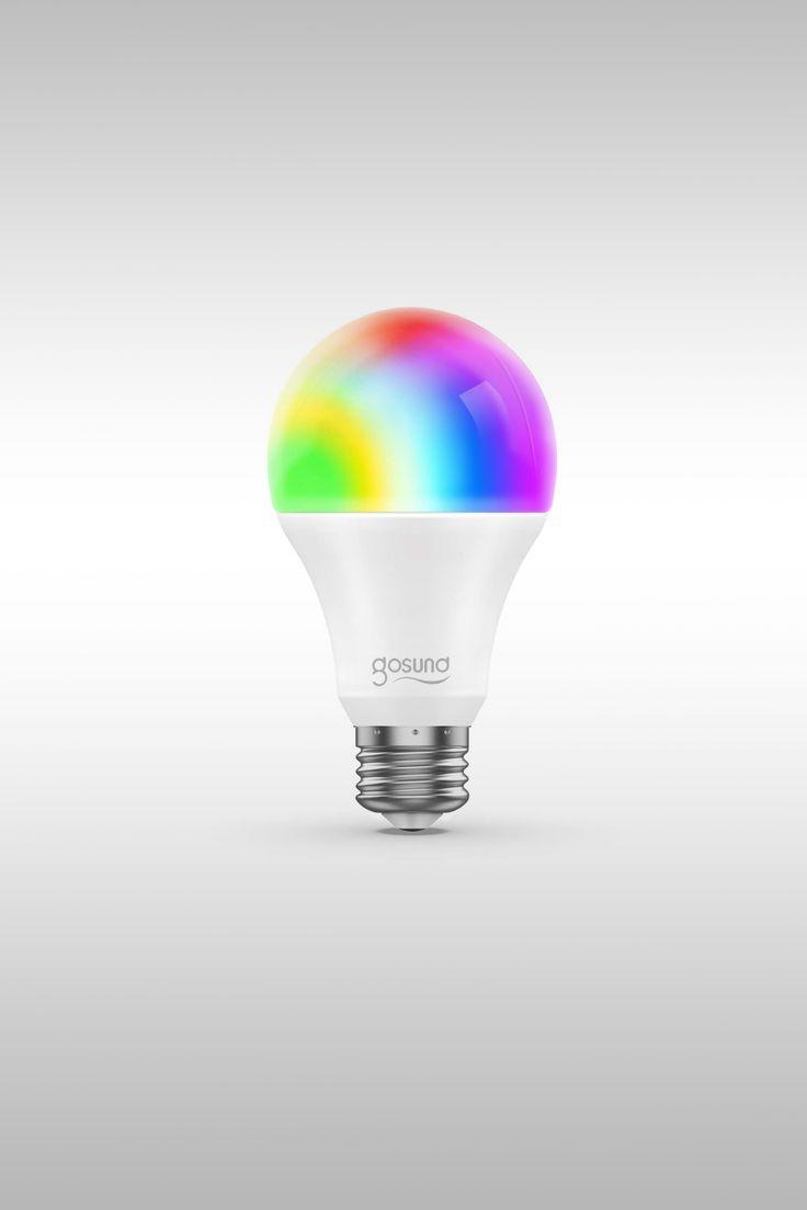 Smart WiFi LED Bulb - Image Credit: Gosund