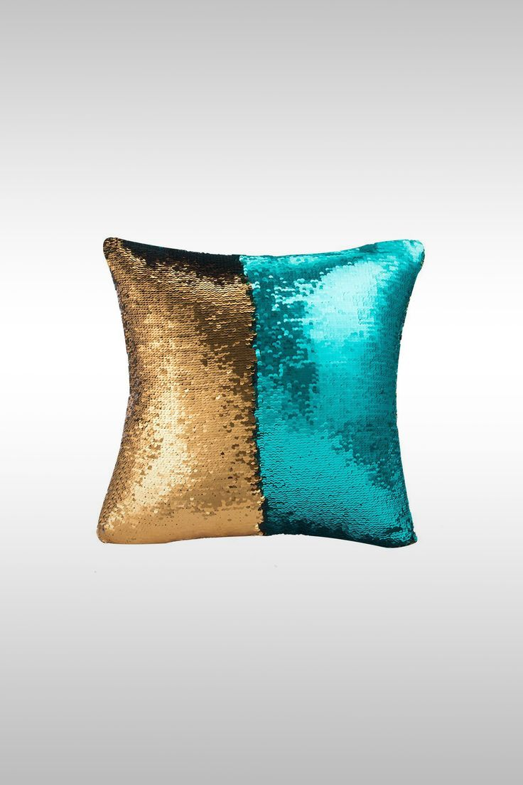 Glitter Pillow Cover - Image Credit: Mocofo