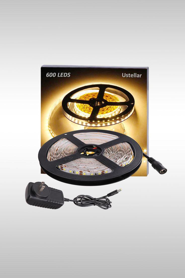 Dimmable LED Strip Light Kit - Image Credit: Ustellar