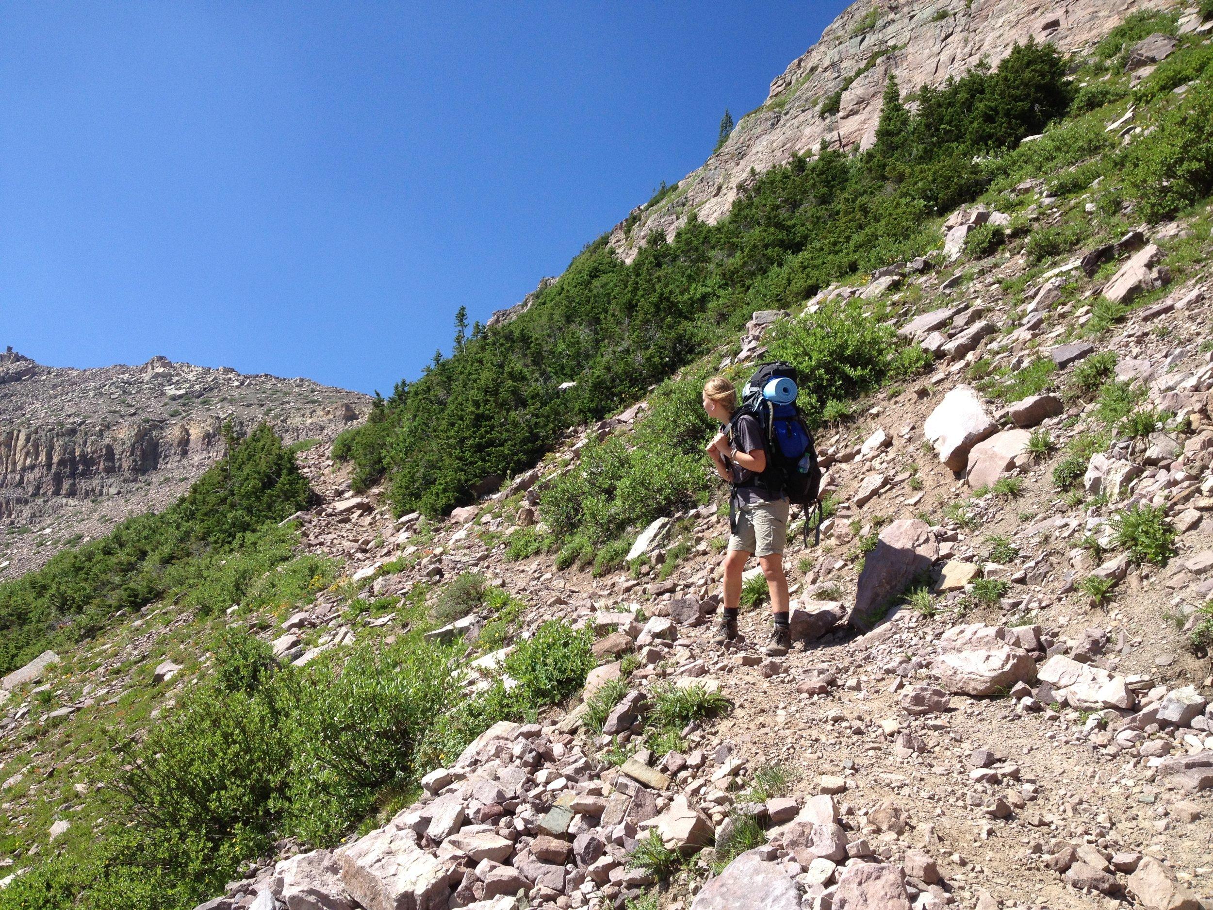 Orem Headache Doctor Descends Rocky Sea Pass
