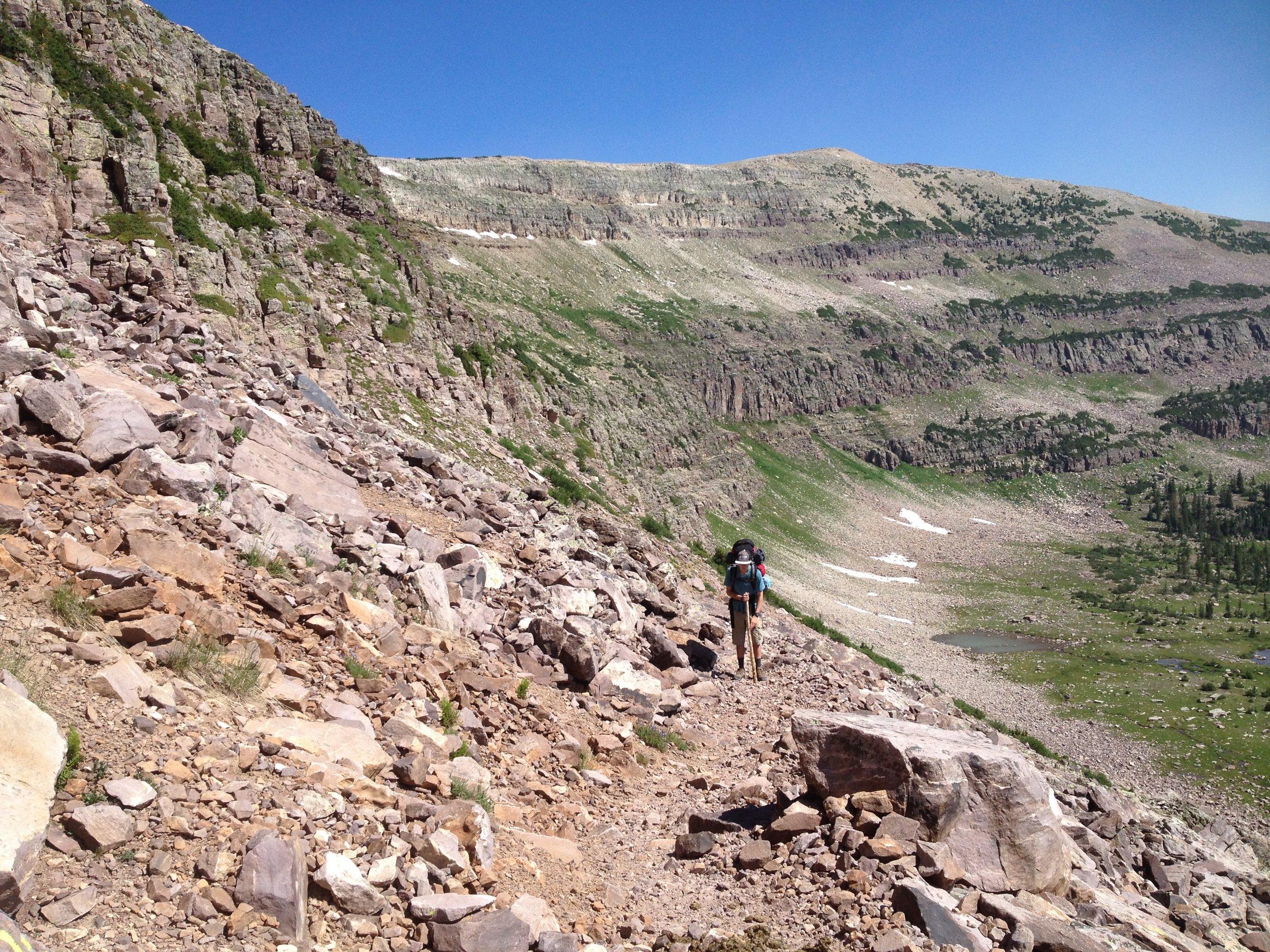 Orem Insomnia Doctor Descends Rocky Sea Pass