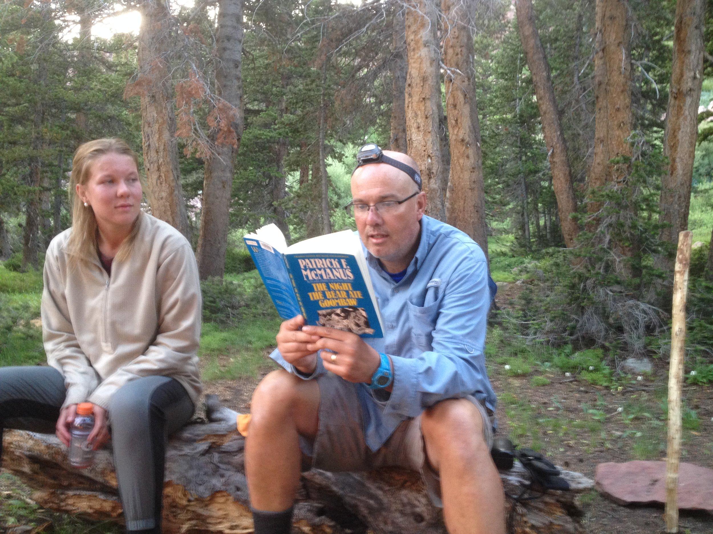 Orem headache clinic Ledge Lake book reading