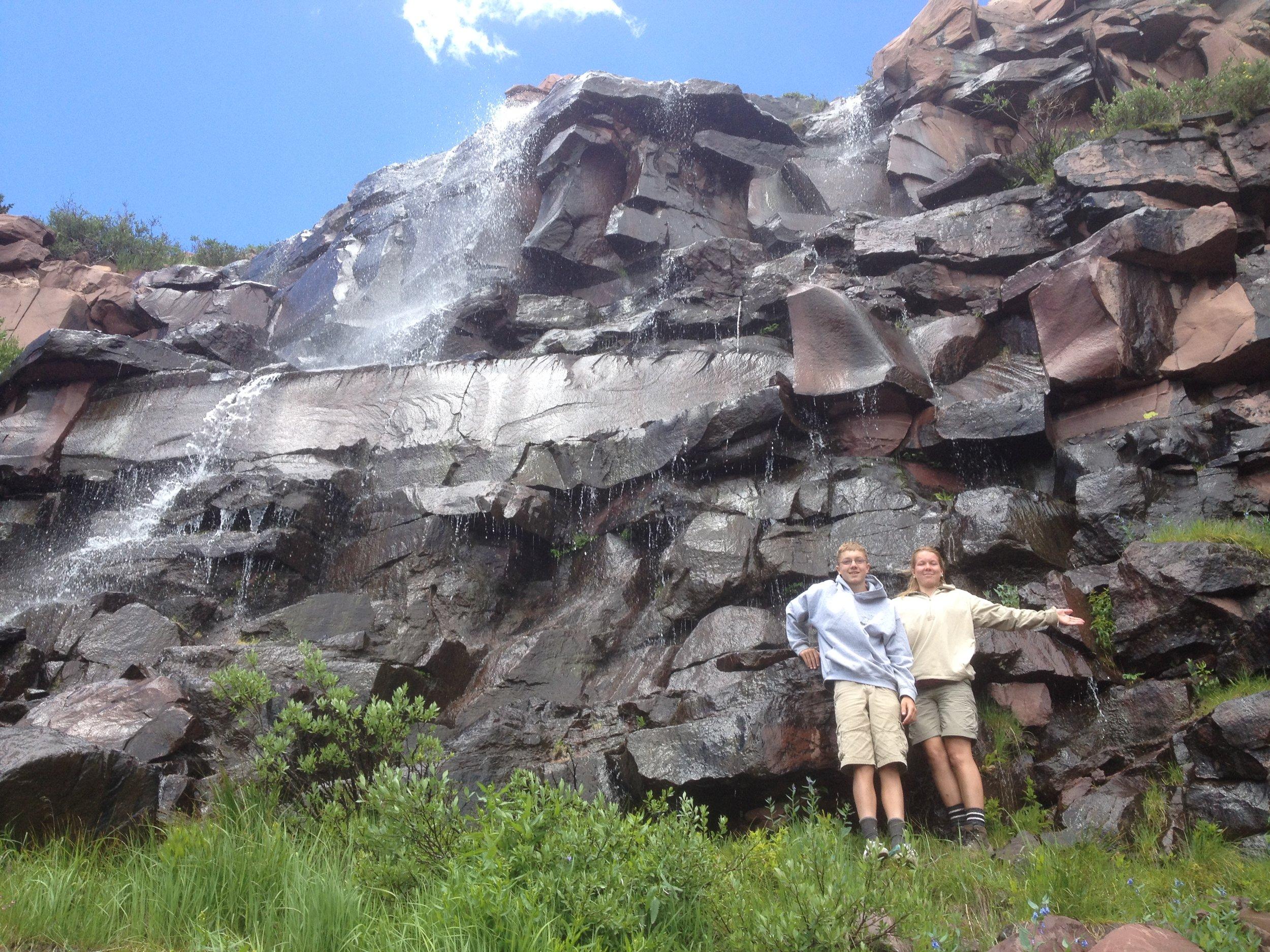 Orem headache clinic Ledge Lake waterfall