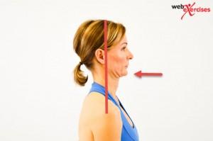 orem posture care Head retraction
