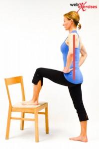 orem posture care hip flexioin